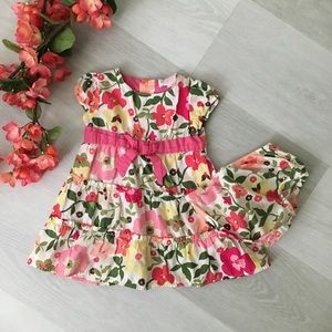 {OshKosh} Floral dress, 12M